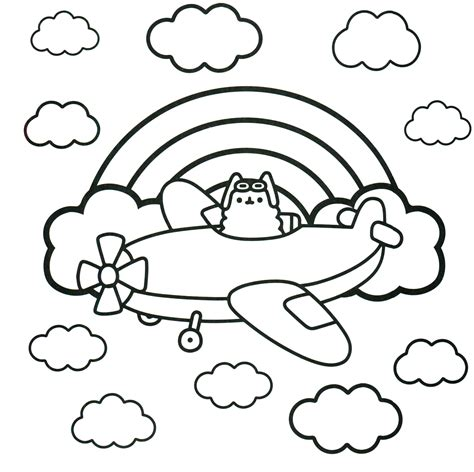 pusheen coloring book pusheen pusheen the cat dibujos a colorear gatito para colorear