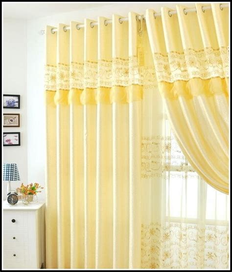 yellow blackout curtains yellow and grey curtain panels curtains home design