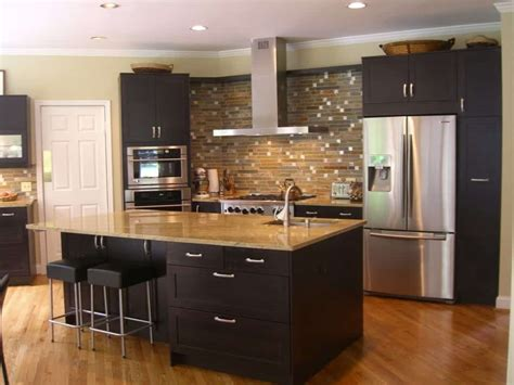 outstanding black  wood kitchens   add style