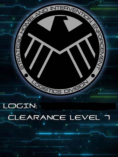 Shield Iphone Agents Marvel Avengers Wallpapers Lock