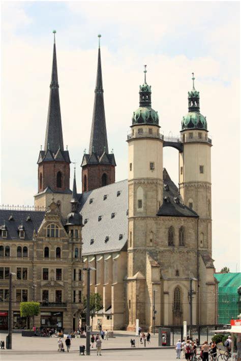 hallesaale ev marktkirche st marien stadt hallesaale