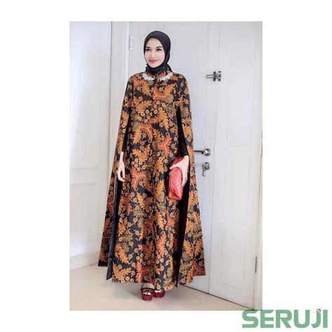 bingung baju  kondangan dress batik syari zaskia