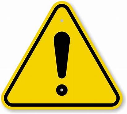 Exclamation Iso Warning Danger Symbol Sign General