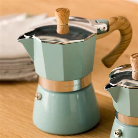 Espresso or strong coffee, what do you get? Aluminum Italian Moka Espresso Coffee Maker Percolator Stove Top Pot 150/300ML Kitchen Tools Sto ...
