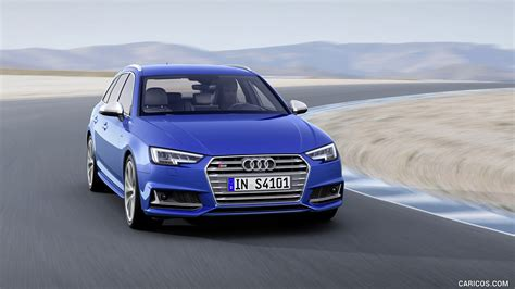 2017 Audi S4 Avant Color Ara Blue Front Hd