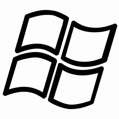 Windows Icon Button Microsoft Clipart Software Icons