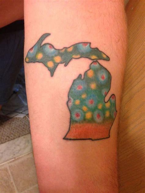 spectacular state  michigan tattoos tattooblend