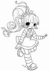Coloring Chibi Anime Characters Template Character Colour Adult Pixels Coloringsky Devushki Raskraski Dynu Larger Credit Colorear sketch template