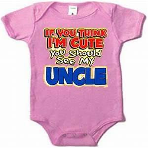 Cute Uncle Quot... Uncle And Baby Quotes