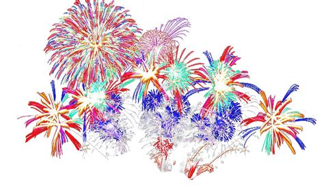 Festival Fireworks Png Effects