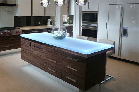 glass top kitchen island trends talking glass countertops with vladimir