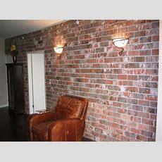 Faux Brick Interior Wall  Smalltowndjscom