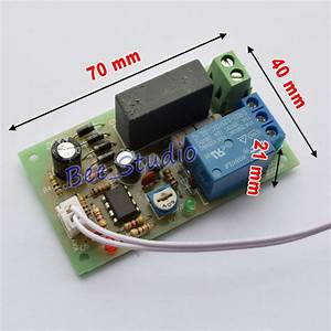 Ac220v 230v 240v Trigger Delay Switch Turn Off Board