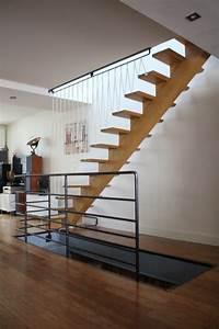 Garde Corp Escalier : garde corps d 39 escalier acier et sandows rampe d ~ Dallasstarsshop.com Idées de Décoration