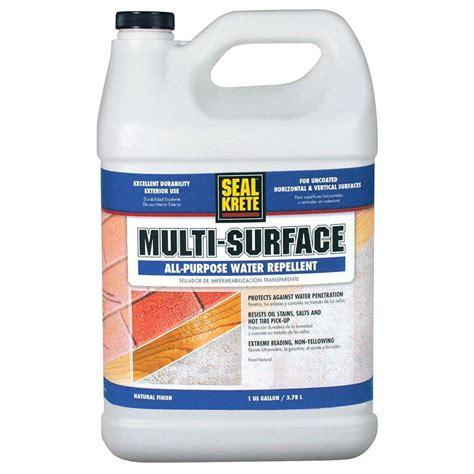 seal krete floor tex home depot seal krete 1 gal multi surface water repellent sk201001