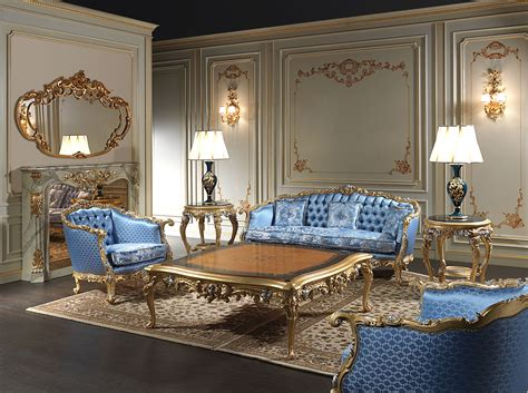 Classic Luxury Living Rooms, Exclusive Collections, Made