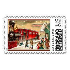 christmas holiday postage stamps images postage