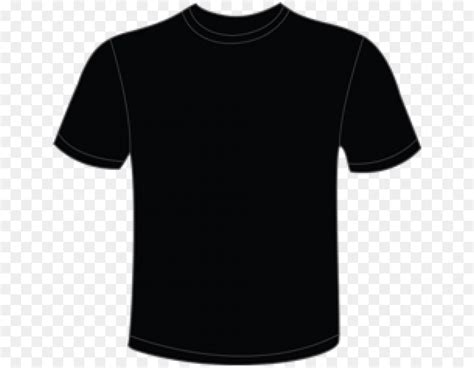 Black Shirt Template Black T Shirt Template Png Free Freemium