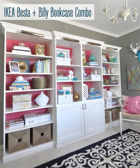 Ikea Besta Bookshelf by Besta Billy Brass Bookcases Centsational