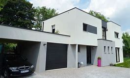 Awesome Maison Moderne Blanche Photos - Awesome Interior Home ...