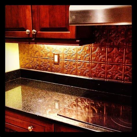 copper tile backsplash for kitchen 17 best images about back splash on tin 8338