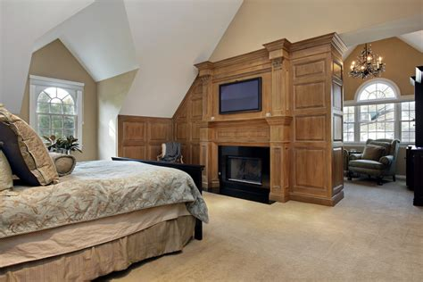 Bedroom Above Fireplace by 58 Magnificent Master Bedrooms Pictures