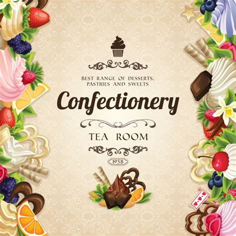 16 Bakery Templates Psd Eps Cdr Format Confectionery Vector Free Vector 16 Free Vector
