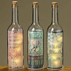 Flasche Mit Lichterkette : flasche mit led beleuchtung spruch sport gewicht witzig ~ Lizthompson.info Haus und Dekorationen