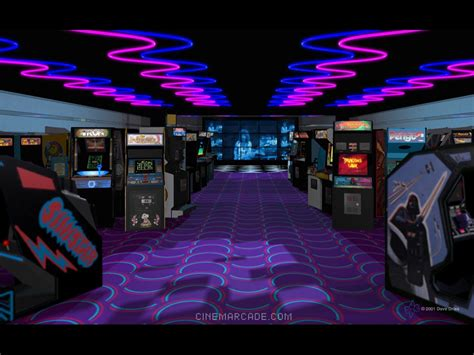 nightlife arcades mirror