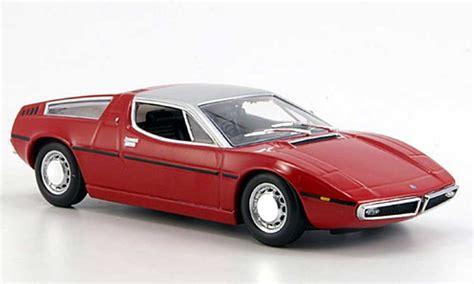 maserati karif maserati bora rojo gris 1972 minichs coches miniaturas