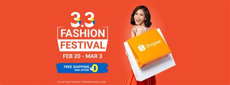 Shopee 3.3 Fashion Festival - The NewsMakers