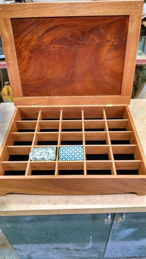 custom mahogany tie organizer  mountain top woodcrafts custommadecom