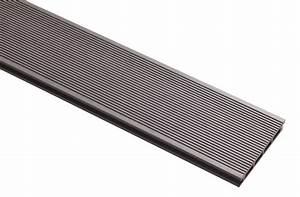 Lame Pvc Clipsable Brico Depot : lame de terrasse composite grise l 3 m x l 14 5 cm x p ~ Dailycaller-alerts.com Idées de Décoration