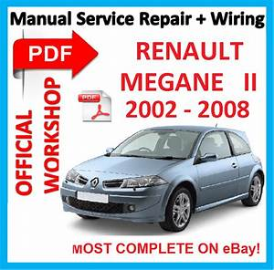 Official Workshop Manual Service Repair For Renault