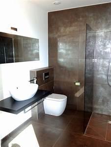 Badezimmer Fliesen Braun : die besten 25 braunes badezimmer ideen auf pinterest badezimmer farben g ste badezimmer ~ Orissabook.com Haus und Dekorationen