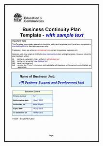 business continuity plan template tryprodermagenixorg With business link business plan template