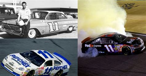 History Of The No. 11 Car In Nascar