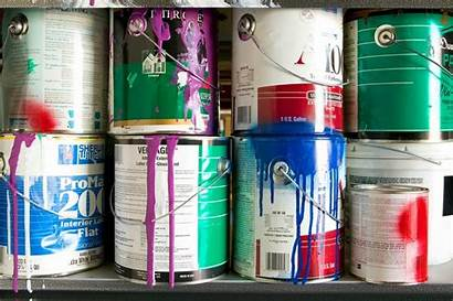 Paint Cans Storing Useful Properly Opened Longer
