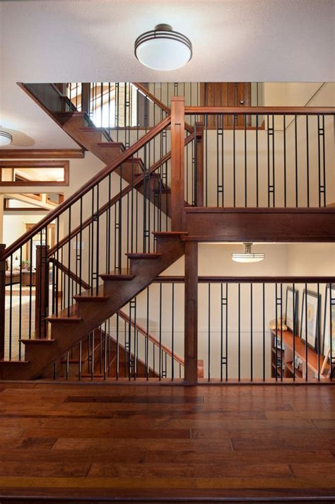 outdoor stair railing ideas staircase craftsman
