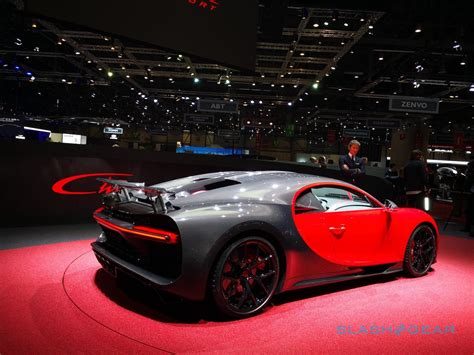 2,711 mm (107″) front track: 2019 Bugatti Chiron Sport puts 1,500hp supercar on a diet ...