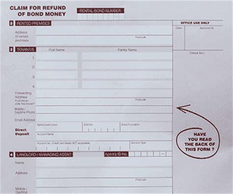 bond claim form claim form bond claim form