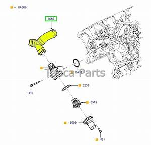Brand New Oem Thermostat Housing T