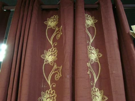 Jcpenney Linden Street Grommet Chocolate Floral Curtains