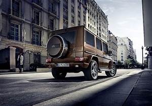 2016 Mercedes Benz G Class Benefits From New V 8, Chassis Upgrades