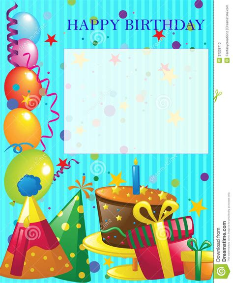 happy birthday background stock photo image