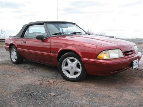 1993 ford mustang lx 5 0 buy used 1993 ford mustang lx 5 0 convertible in