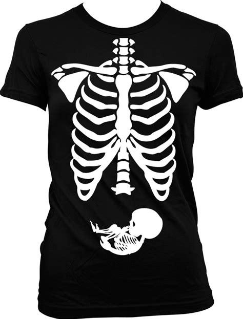 Skeleton Shirt Pregnancy Baby Skeleton Rib Cage T Shirt Expecting