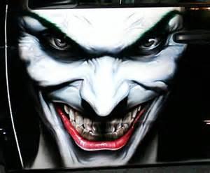Joker Airbrush Artwork