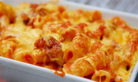 gratin de p 226 tes 224 la sauce au chorizo ww plat et recette