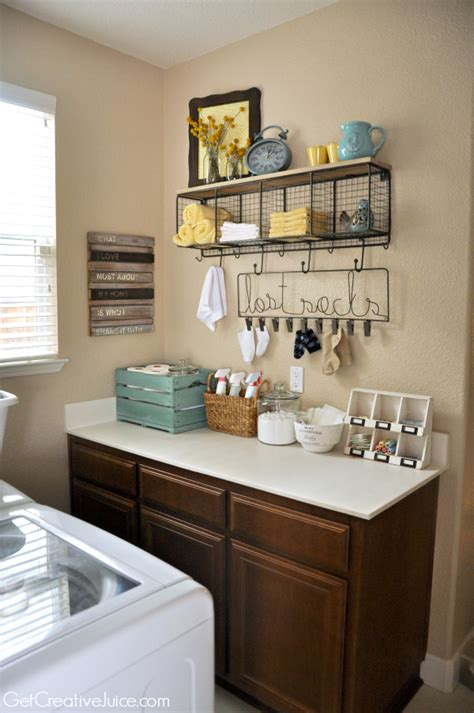Decorating Ideas For Small Laundry Room by Laundry Room Organization And Storage Ideas Creative Juice